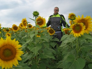 Me in the sunflowers